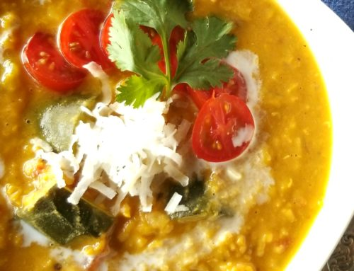Coconut Red Lentil Curry