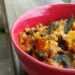 Brown Rice Butternut Squash Risotto with Sage Leaves