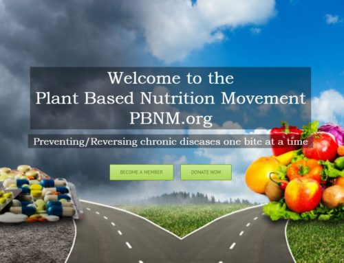 The Vision of Plant Based Nutrition Movement – Manifesto