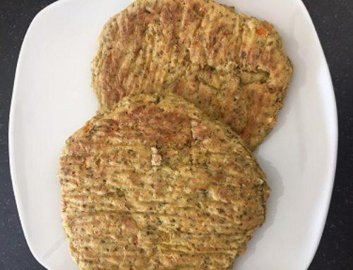 Artichoke Spinach Cauliflower Bean Burgers