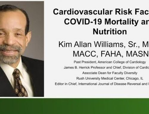 Dr. Kim Williams Presents Covid-19 Mortality and Nutrition