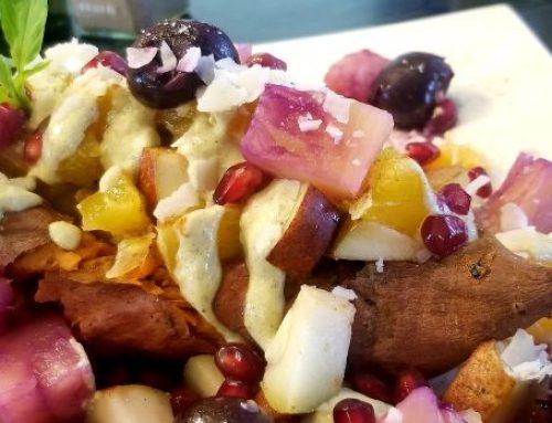 Loaded Sweet Potatoes